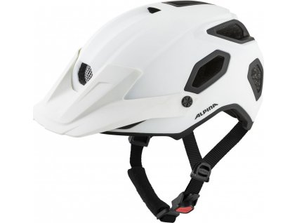 ALPINA Cyklistická enduro prilba Comox biela mat - Veľkosť : M