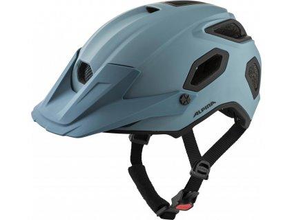 ALPINA Cyklistická enduro prilba Comox dirt-blue mat - Veľkosť : L