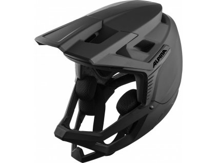 ALPINA Cyklistická enduro prilba ROCA čierna mat - Veľkosť : L (59-60)