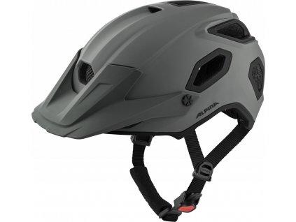 ALPINA Cyklistická enduro prilba Comox coffee-grey mat - Veľkosť : L