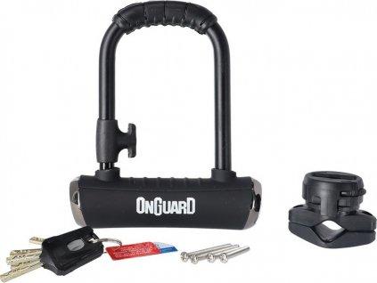 U-zámek Onguard Pitbull Mini 8006X 90 x 140mm, Ø 14mm