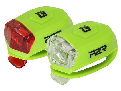 Sada bezpečnostného osvetlenia P2R FREYO lime green