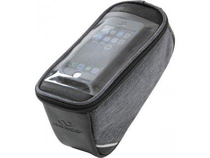Taška na telefon Norco Milfield šedá, 21x12x10cm, s adaptérem