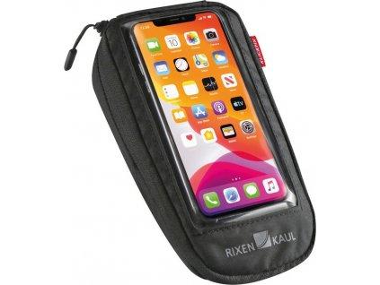 Taška na telef.Comfort M KLICKfix+adapt transparent/cerná, s otoc.spojkou