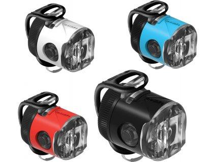 Lezyne predné LED svetlo FEMTO USB DRIVE - modré