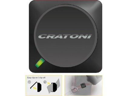 Crash Sensor Cratoni C-Safe vhodné pro každou helmu Cratoni