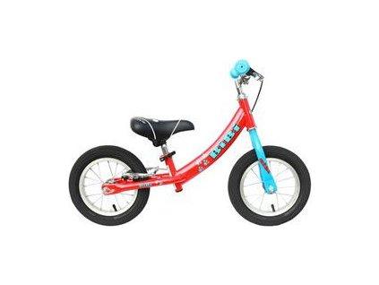 MAX1 Detský odrážací bicykel BIBI červený pre deti od 3-5 rokov