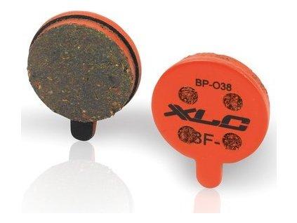 XLC obložení kotoucových brzd BP-O39 Alhonga SNG mechanické, Zoom