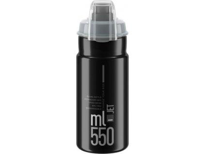 lahev ELITE Jet  Plus 21´ černá/šedé logo 550 ml