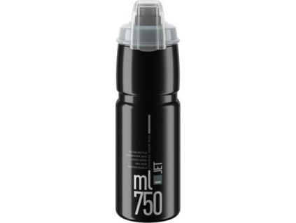 lahev ELITE Jet  Plus 21´ černá/šedé logo 750 ml