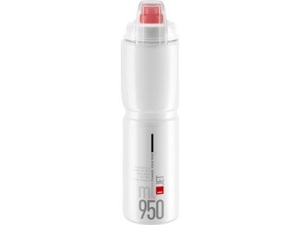lahev ELITE Jet  Plus 21´ čirá/červená logo 950 ml