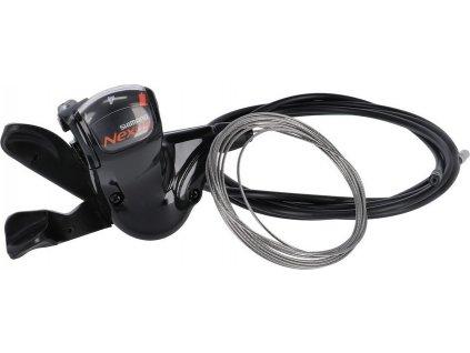 Rapidfire-radící pácka Shim.Nexus SL7S50 pro 7 r.náboj , s lankem, 2100mm cerná