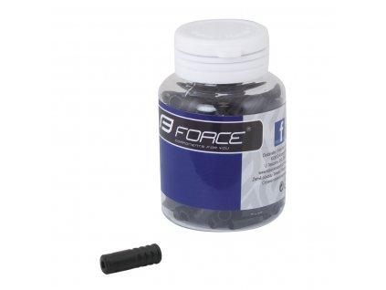 Koncovka radiaceho bowdenu 4mm plast čierna