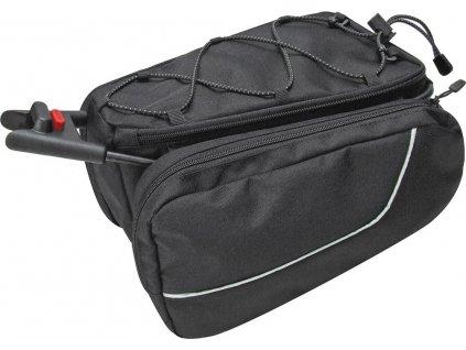 Taška pod sedlo Contour Sport čierna,7 l, Contour-adaptér, KLICKfix