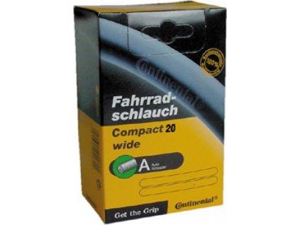 "Duša Continental Compact 20x1 1/4-1.75"" 32/47-406, AV"