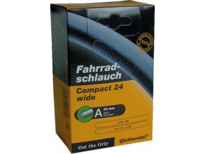 "Duša Continental Compact 24x1.95/2.4"" 47/60-507, AV"