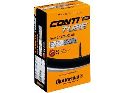 "Duša Continental Tour 27/28x1 1/4-1.75"" 32/47-622/635 DV 40mm"