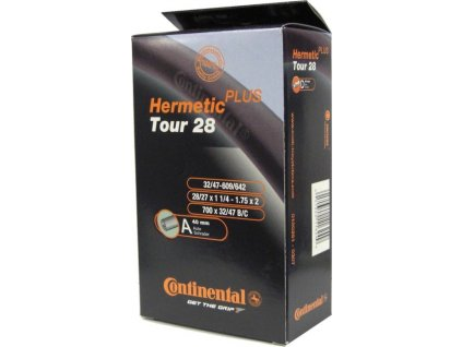 "Duša Continental Tour Hermetic Plus 28x1 1/4-1.75"" 32/47-609/642 AV 40mm"