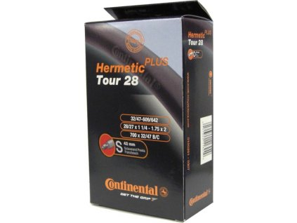 "Duša Continental Tour Hermetic Plus 28x1 1/4-1.75"" 32/47-609/642 SV 42mm"