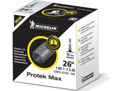 "Duša Michelin C4 Protek Max 26"" 47/58-559 AV 35mm"