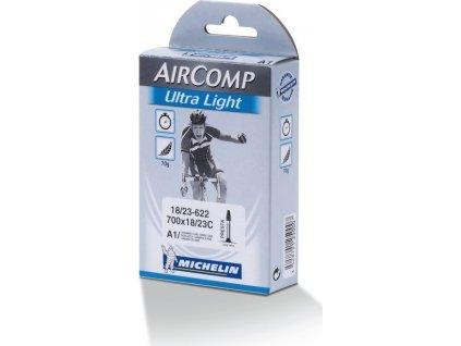 "Duša Michelin A1 Aircomp Ultralight 28"" 18/23-622, SV 52 mm"