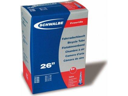 """Duša Schwalbe SV13F Freeride 26x2.10-3.00"""" 54/75-559 EK 40mm"""