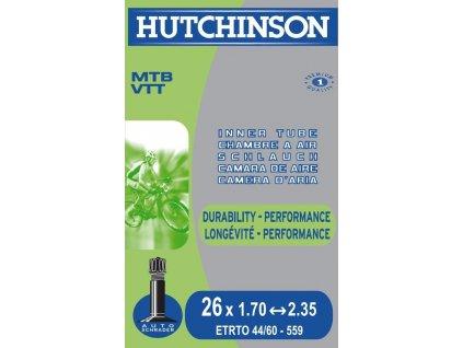 "Duša Hutchinson Standard 27.5"" 27.5x1.70-2.35"" Schrader-Ventil 48 mm"