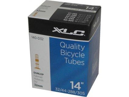 Duša XLC 140-D32 14 x 1 3/8 37/44-288/305 DV 32 mm