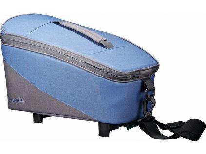 Racktime Systémová brašna Talis modrá/šedá, vcetne Snapit adaptéru