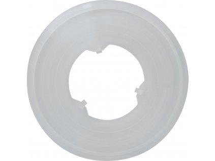 kryt PLAST za vícekolo/ kazetu 138mm, čirý