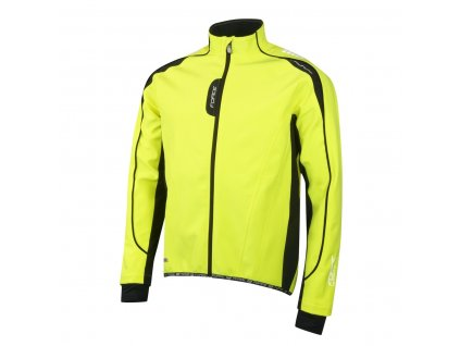 Bunda FORCE X72 softshell pánska fluo
