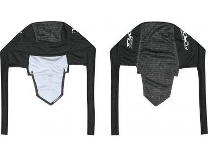 šátek FORCE SCARF - PIRÁT 1991,černo-šedo-bílý UNI