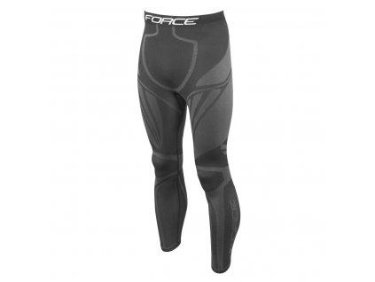 kalhoty/funkční prádlo FORCE FROST černé