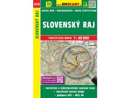 Cyklomapa turistická Slovenský ráj, 474 (4106)