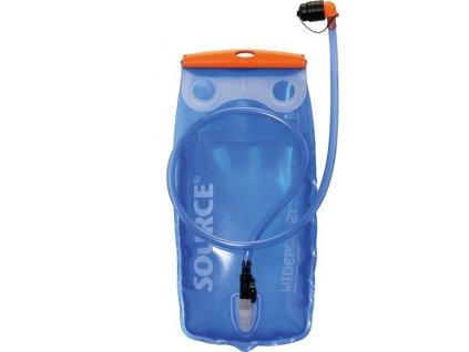 Rezervoár na pití Source Widepac 3 L transparentní modrá