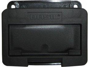 Adaptér Basil pro prední koše antracitová