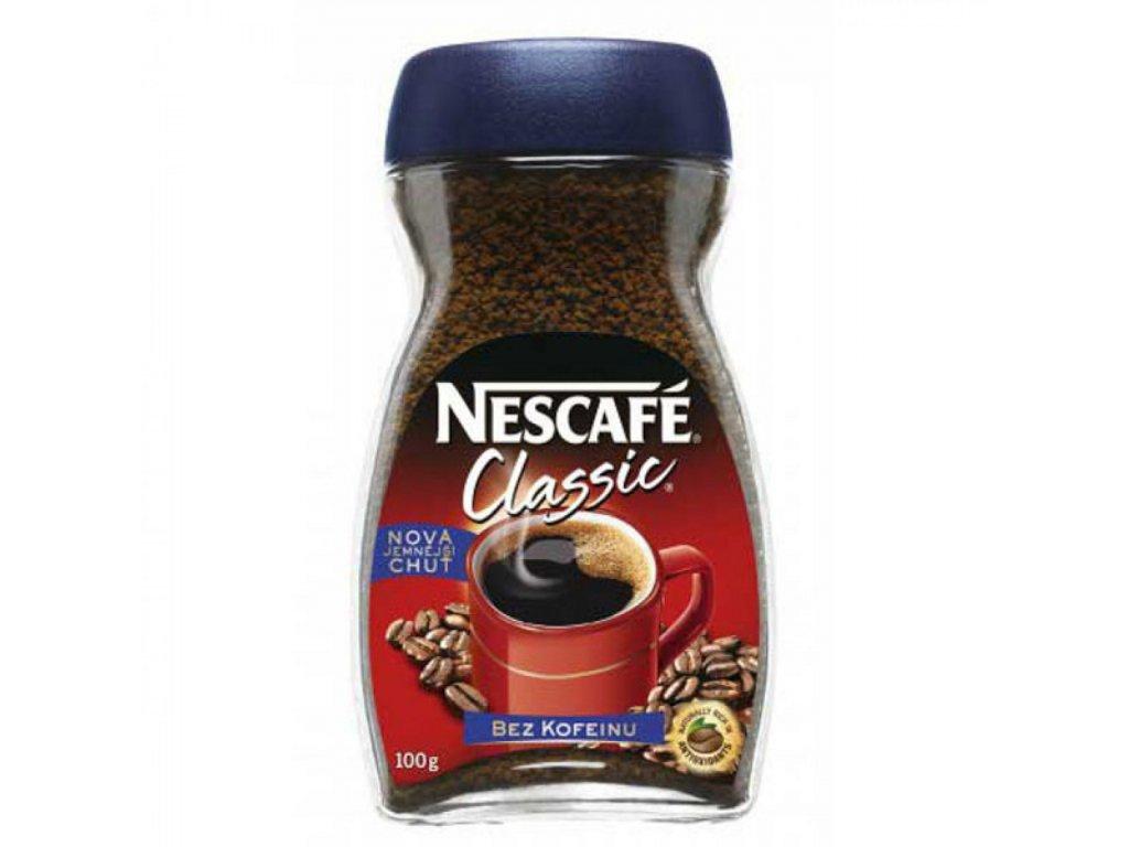 Káva NESCAFÉ bez kofeínu inst.100g
