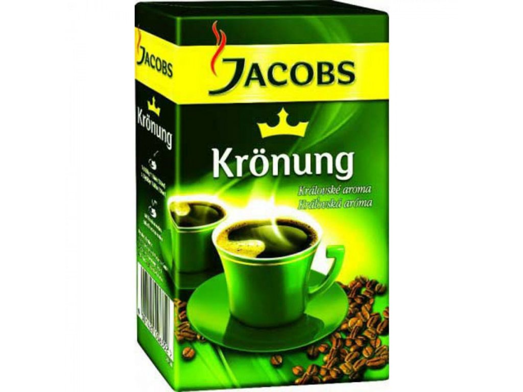 Káva JACOBS Krönung mletá 250g