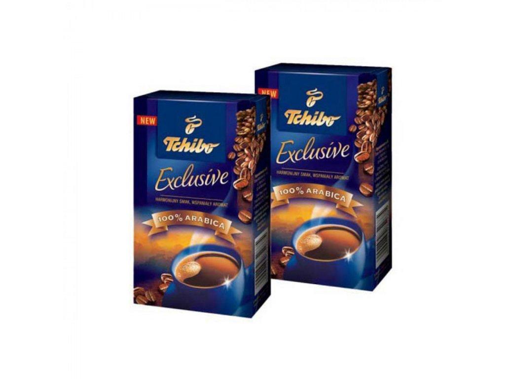 Káva TCHIBO Exclusive mletá 250g