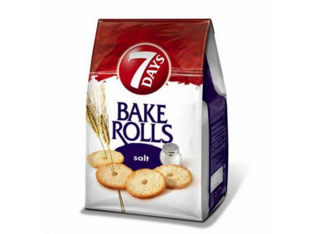 7 Days Bake Rolls slané 80g