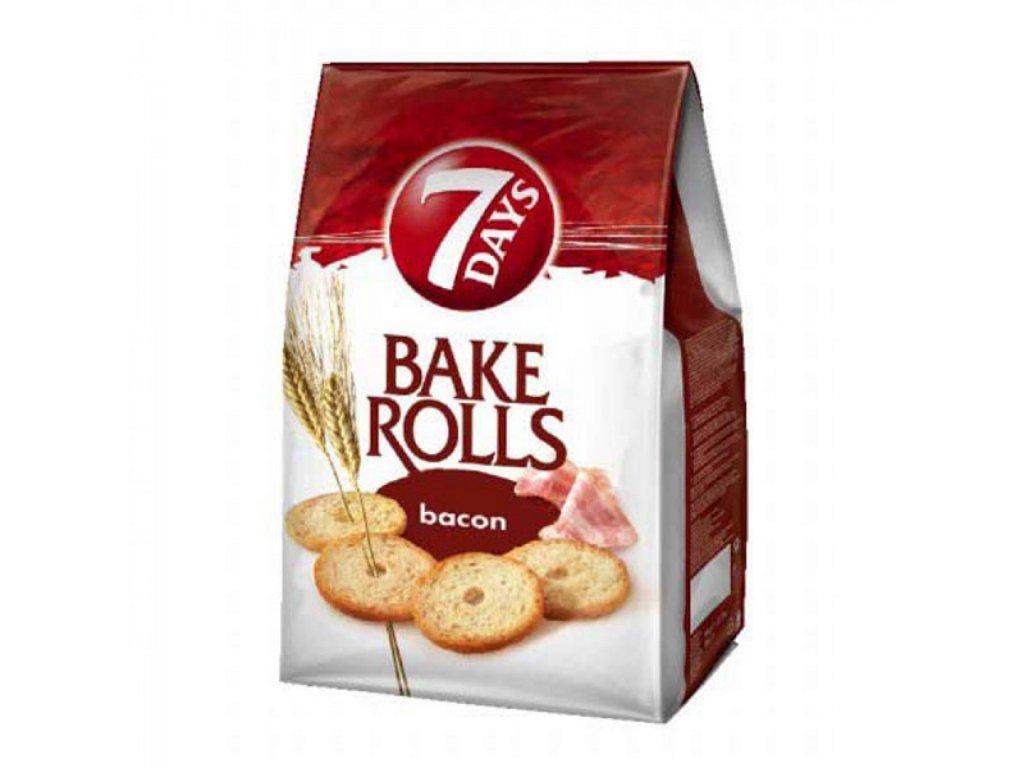 7 Days Bake Rolls slanina 70g