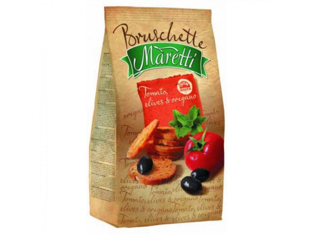 Maretti Bruschette paradajky, olivy a oregano 70g