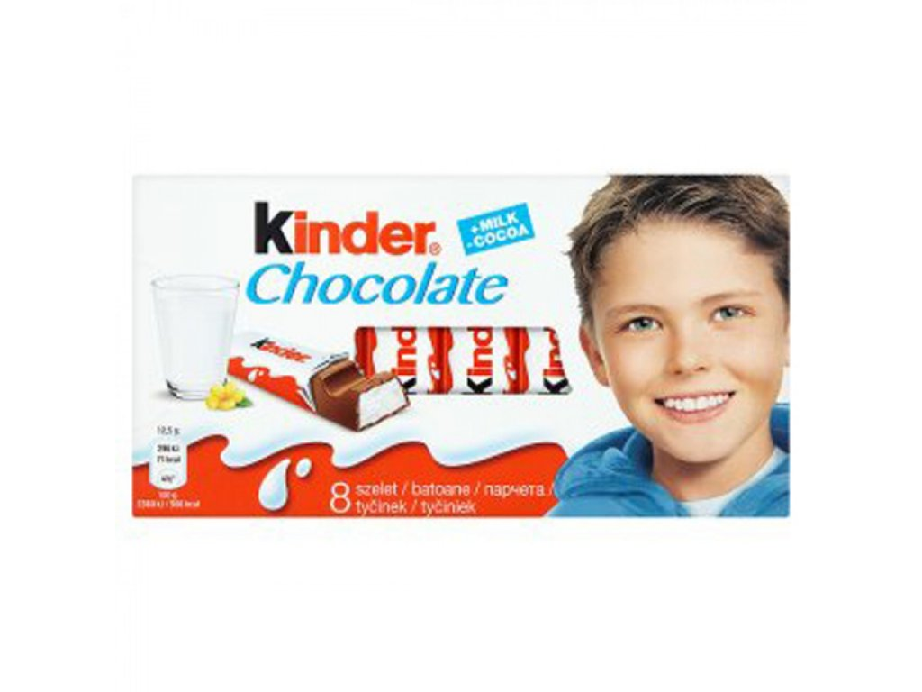 Tyčinka Kinder Chocolate T8 100g