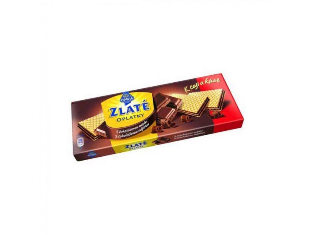 Zlaté oblátky kakaové 146g