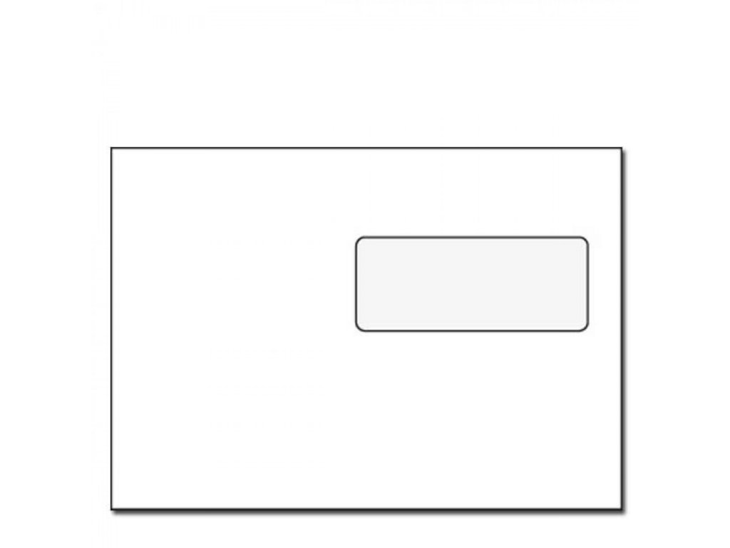 Obálka C5 s páskou s okienkom