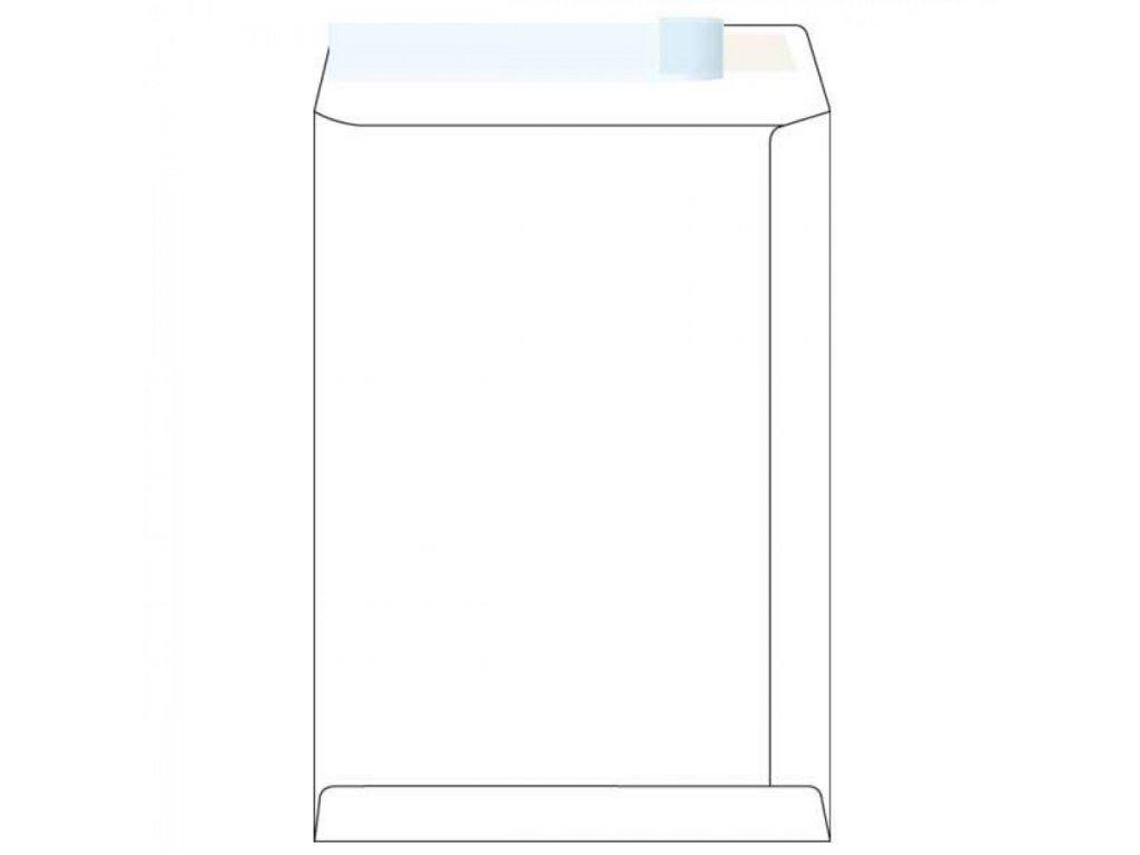Obálky B4 s páskou biele OBB4P