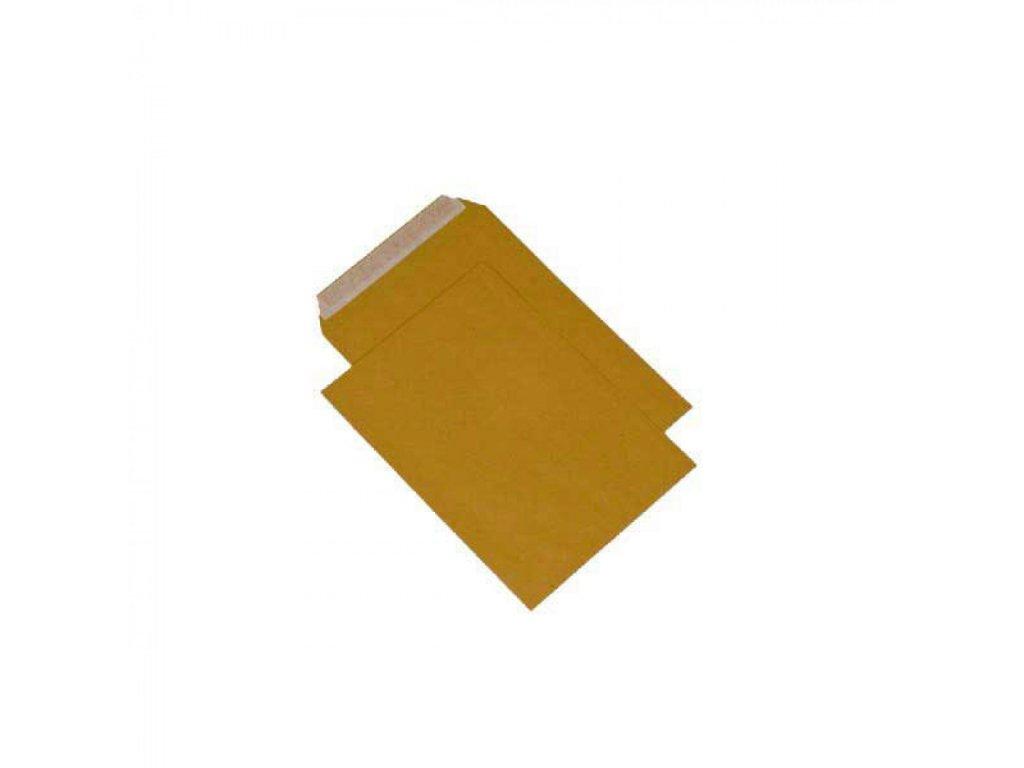 Obálky B4 s páskou, hnedé 90gr