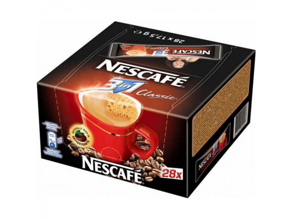 Káva NESCAFÉ Classic instant 3in1 28x18g
