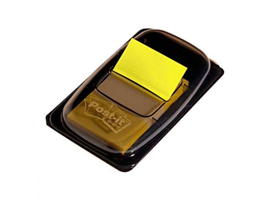 Záložka Post it index 25x43 žltá MM6805