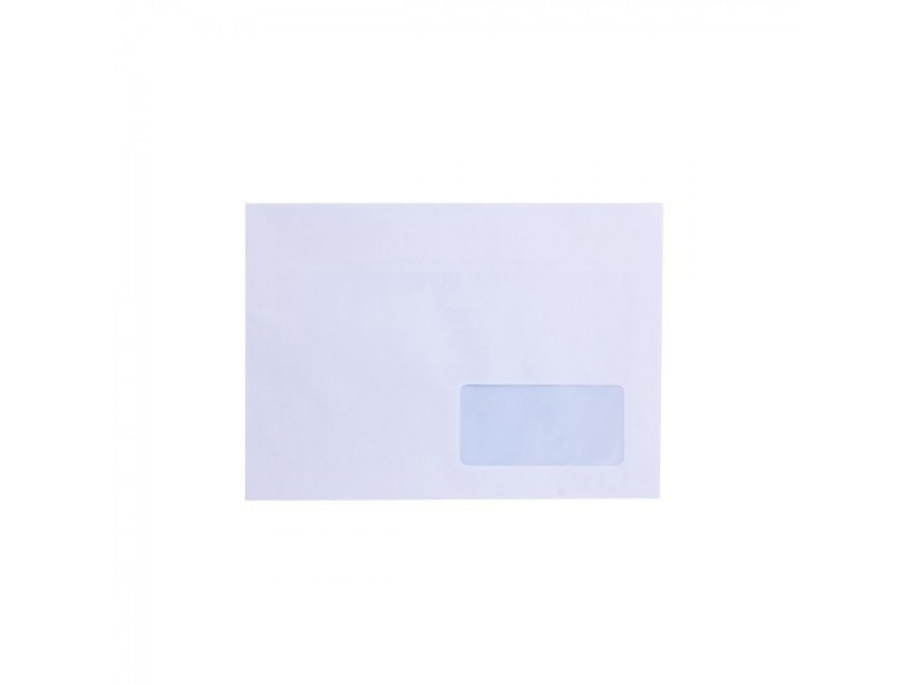 Obálky C5 navlhčovacie okienko v pravo